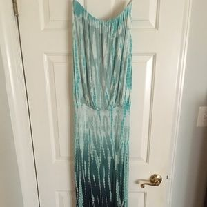 Young Fabulous & Broke Strapless Maxi Dress in S